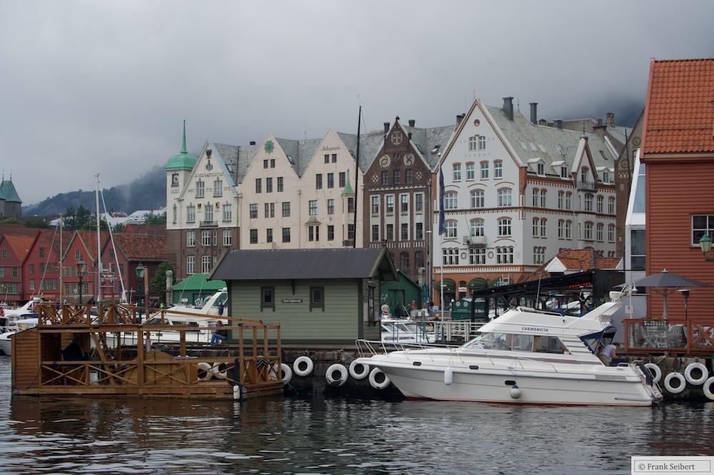 Bergen Hafenansicht