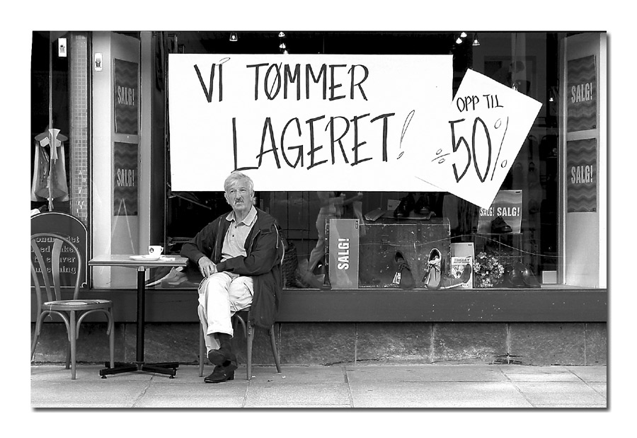 Bergen - Sommerschlußverkauf