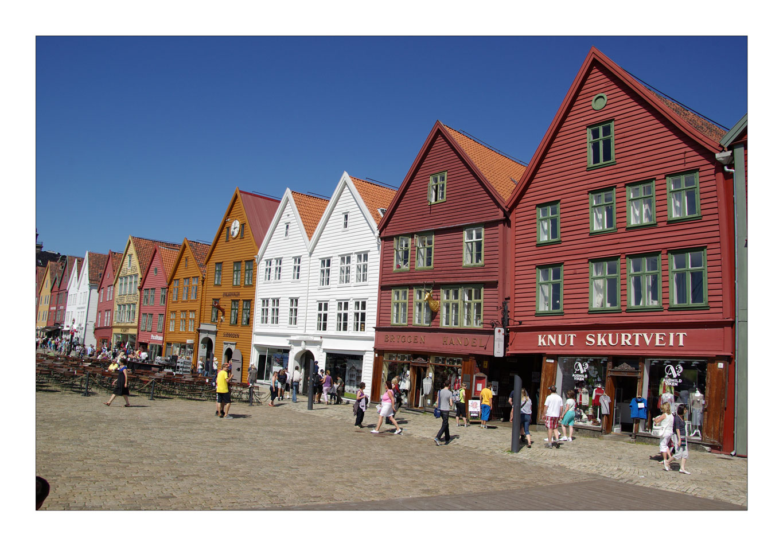 Bergen, Tyske-Bryggen