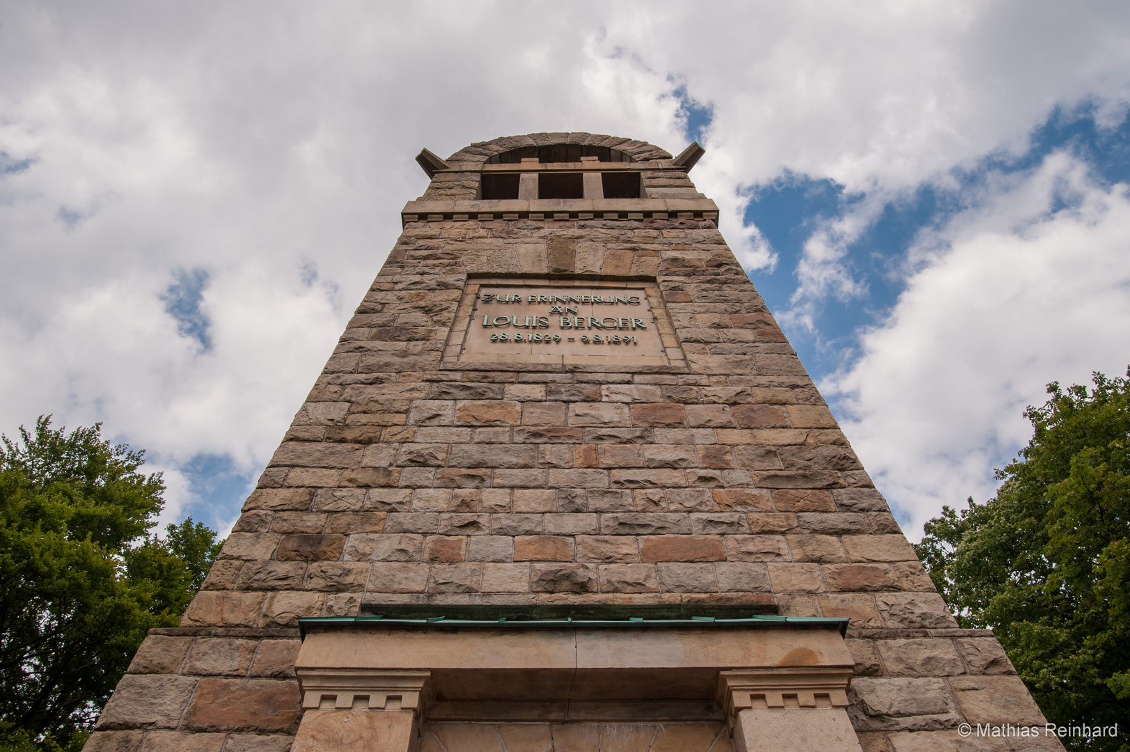 Berger-Denkmal, Witten Hohenstein