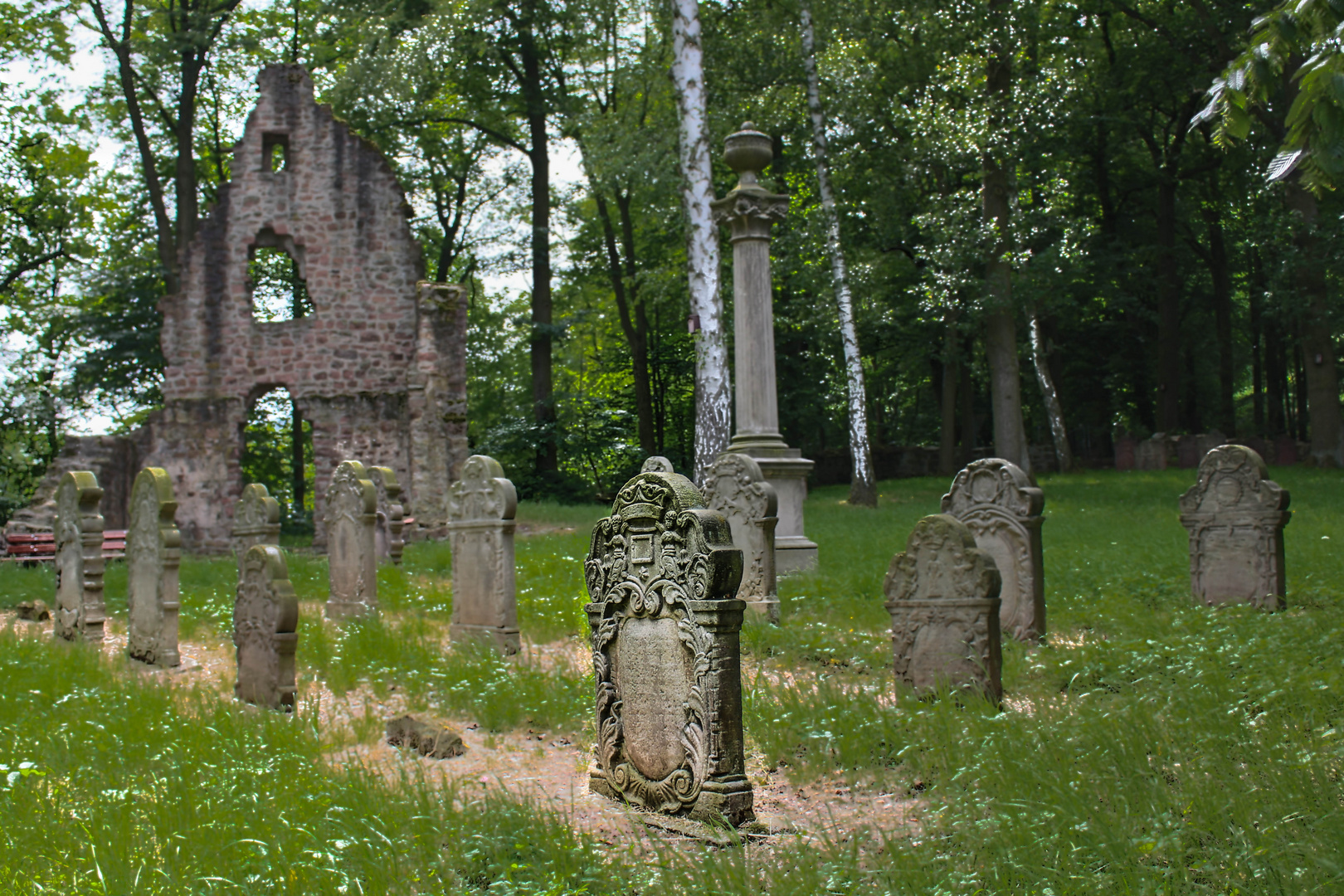 Bergfriedhof Unterhaun 2