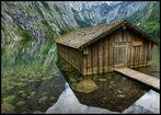 Berghütte am See