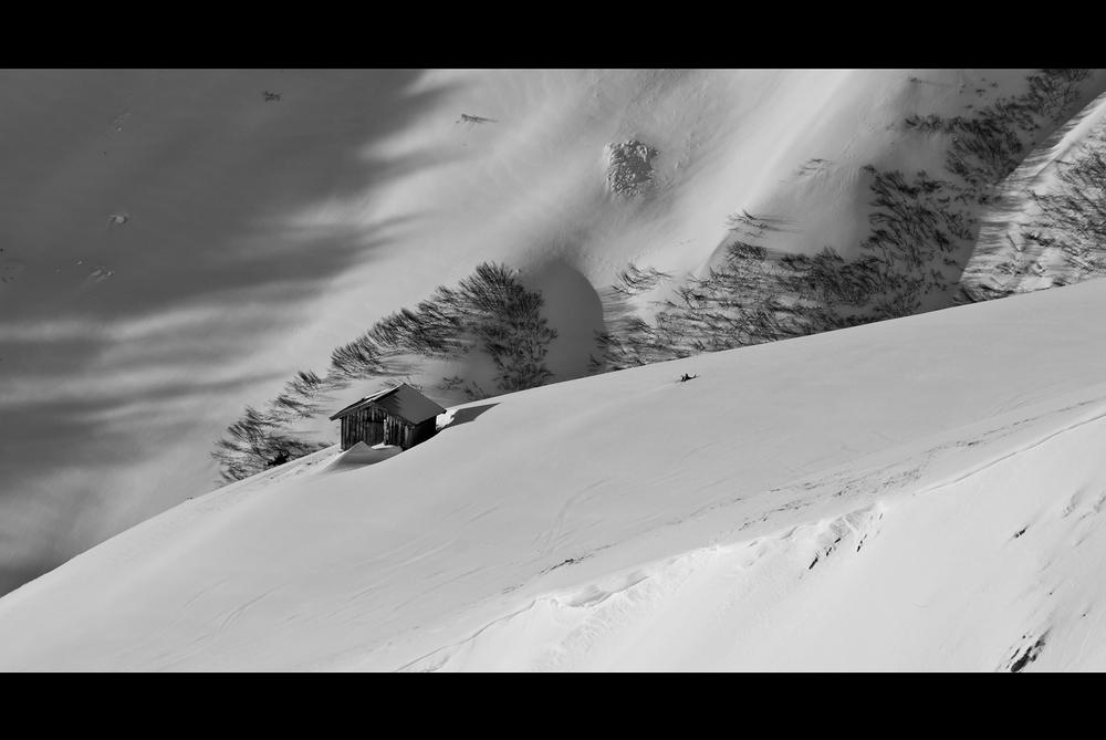 Berghütte im lechtal