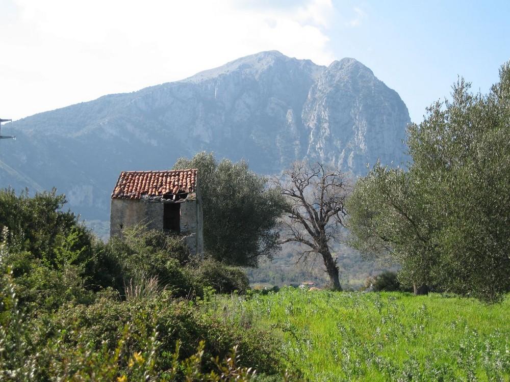 Berghütte in Süditalien