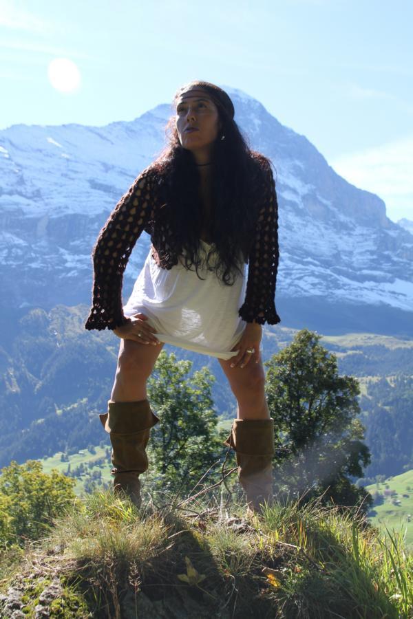 Bergindianerin