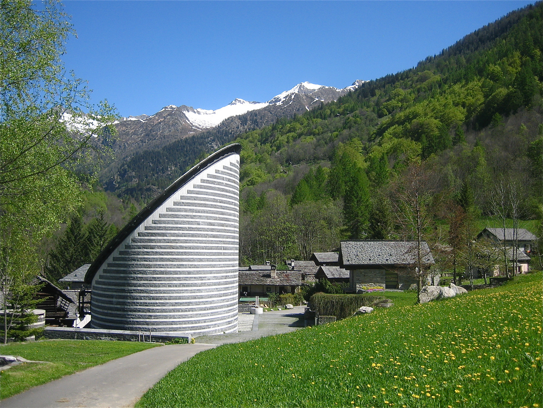 Bergkapelle in Mogno