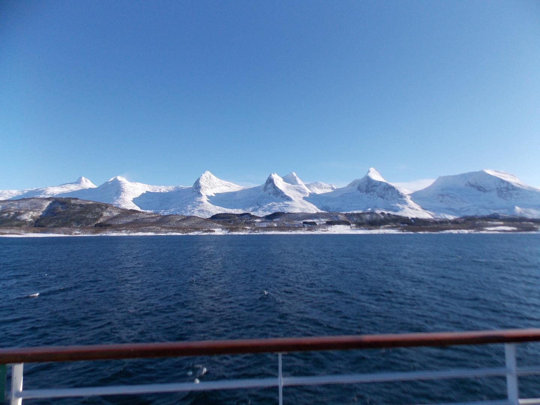 "Bergkette ""7 Schwestern"", Norwegen"