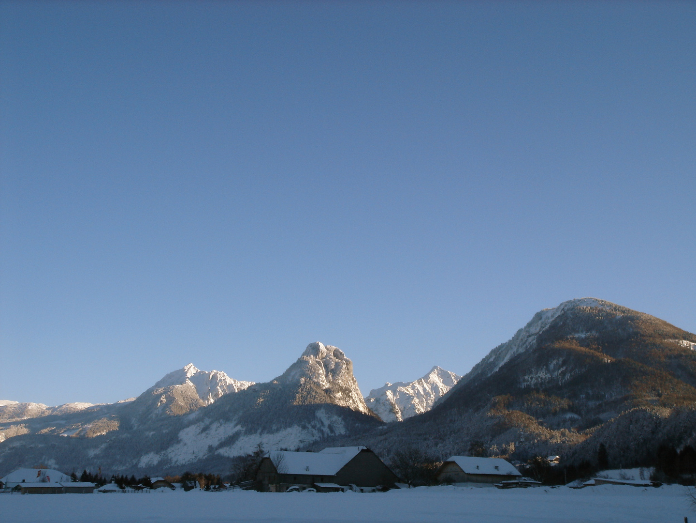 Bergkette im Süden des Wolfgangsees
