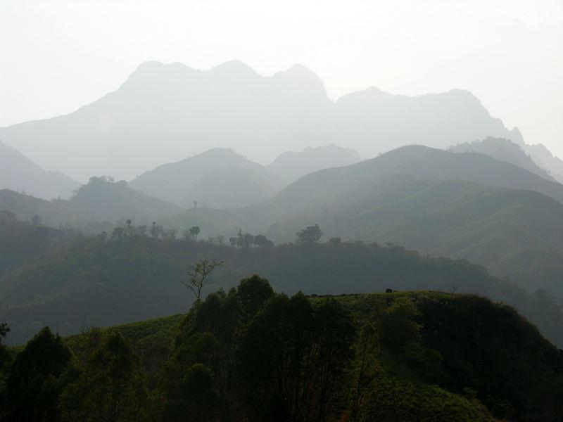 Bergkulissen