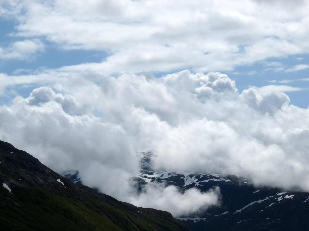 Berglandschaft bei Stalheim
