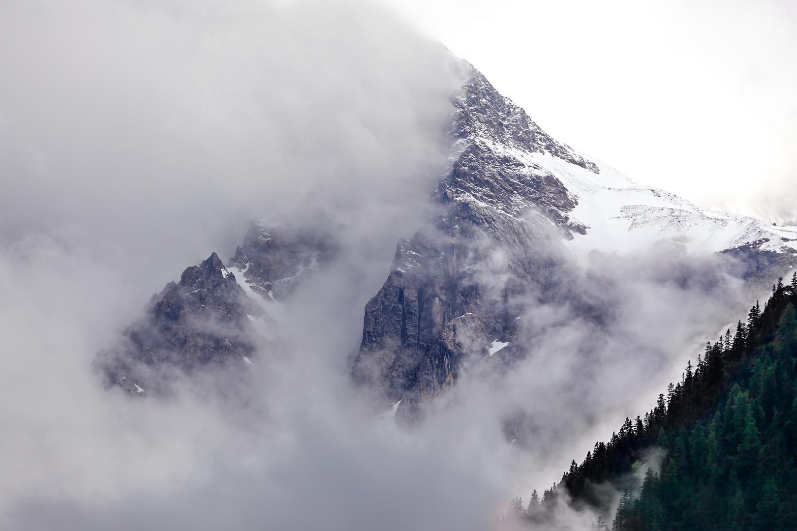 Berglandschaft (Brand bei Bludenz, Österreich)