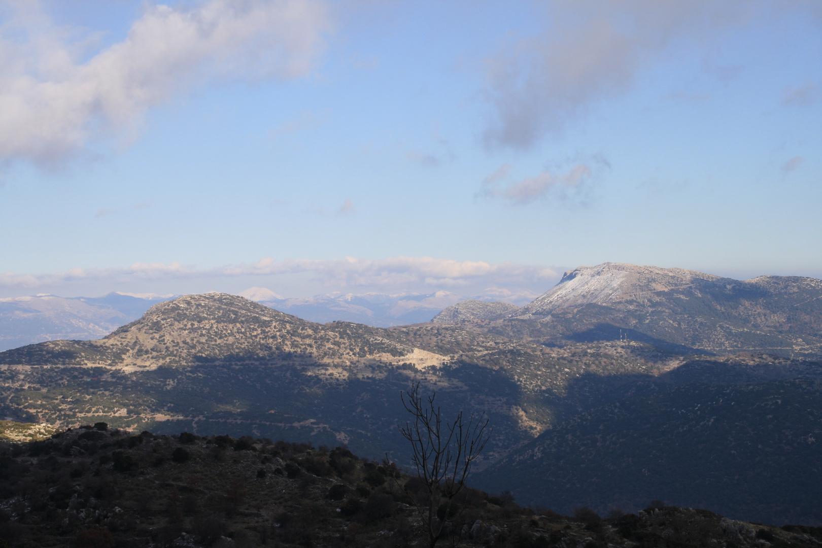 Berglandschaft Griechenland