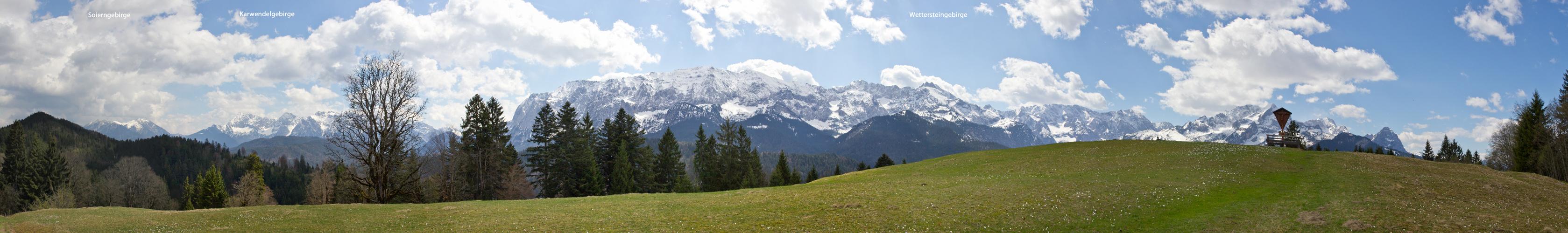 Bergpanorama am Eckbauer