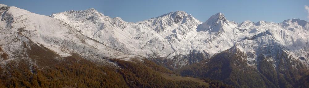 Bergpanorama am Timmelsjoch