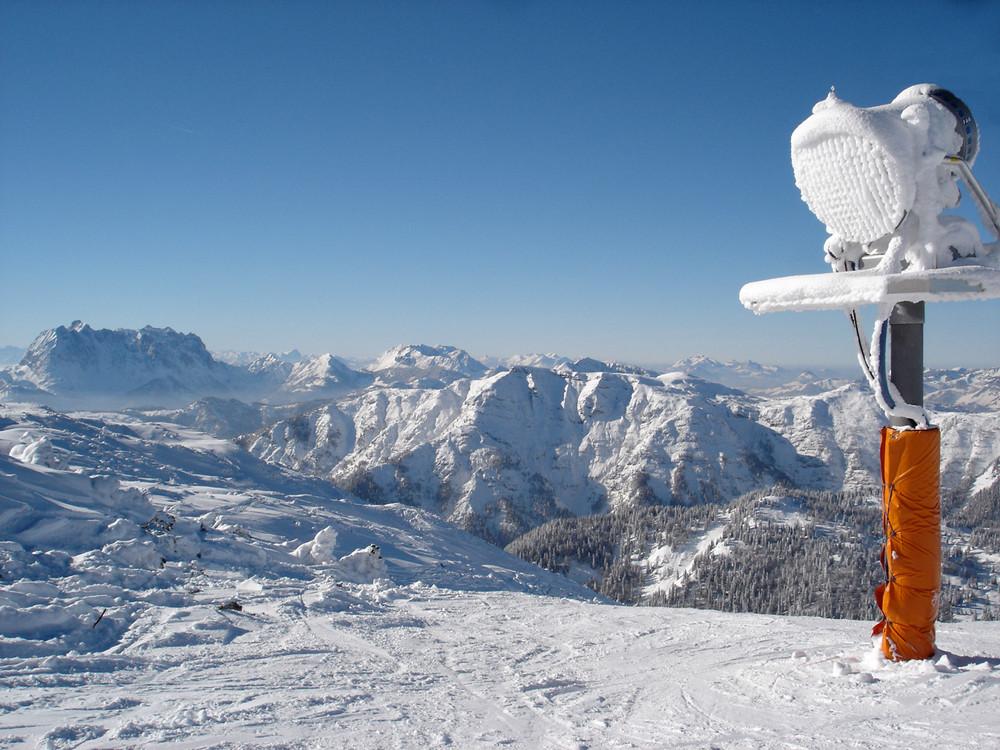 Bergpanorama bei Waidring in Tirol (AT)