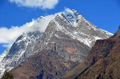 Bergpanorama in der Manaslu-Region