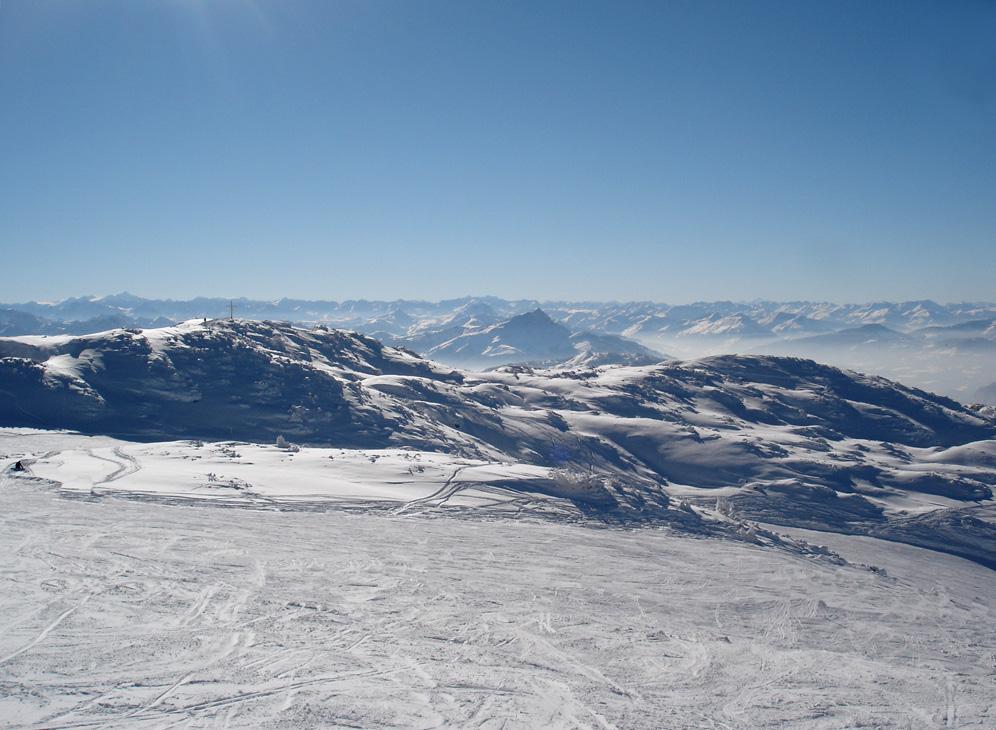 Bergpanorama in Tirol
