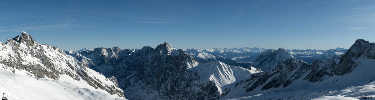 Bergpanorama von der...