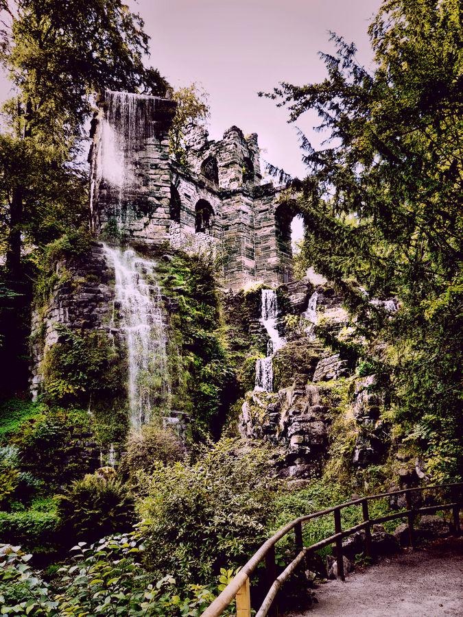 Bergpark in Kassel (Aquädukt)