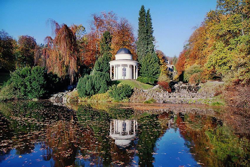 Bergpark Wilhelmshöhe Herbst
