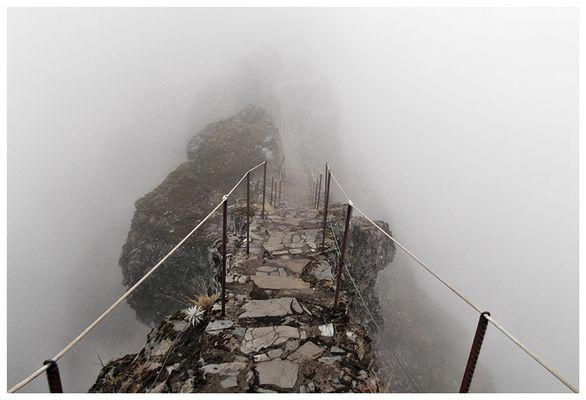 Bergpfad auf Madeira
