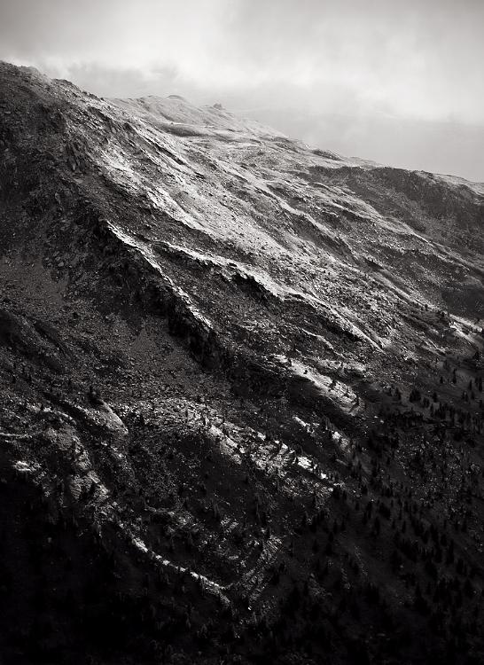 Bergrücken