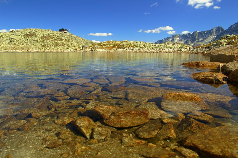 Bergsee auf 2300 müM