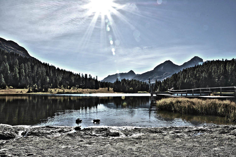 Bergsee im Oberengadin CH