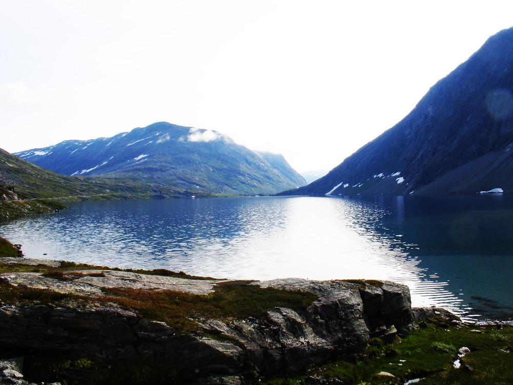 Bergsee in Norwegen