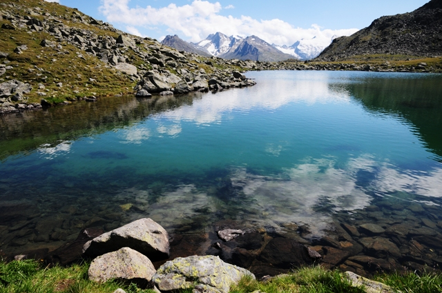 Bergsee unterhalb des Nederkogel (Ötztaler Alpen)