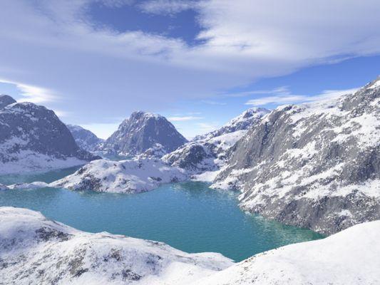 Bergsee wie ich ihn gerne hätte :-)