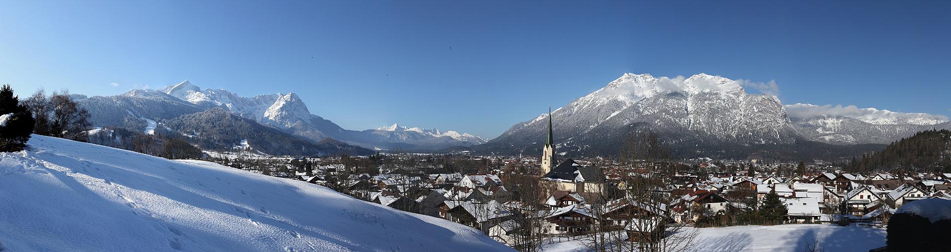 Bergsicht-Schiebepanorama
