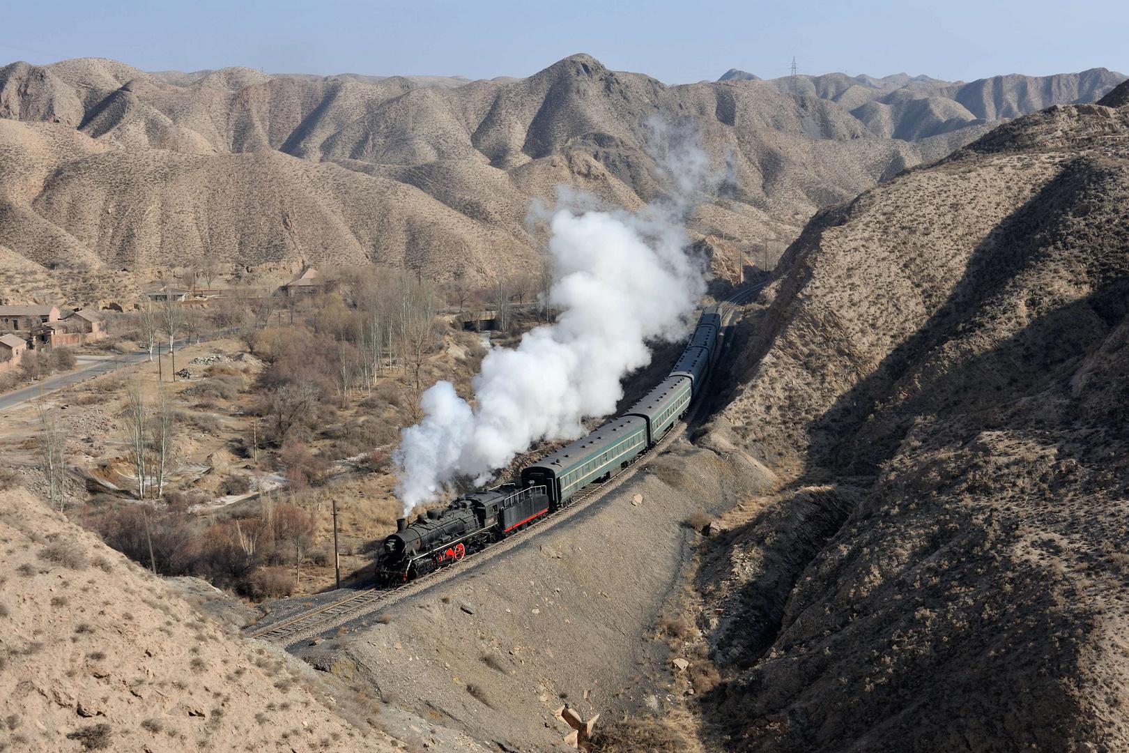 Bergsport in Baiyin (2/6) - der goldene Schuss