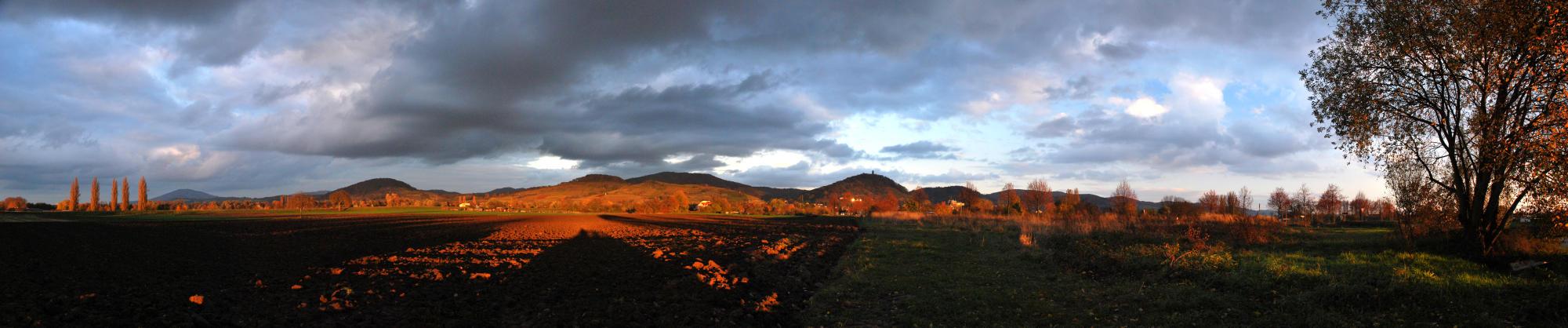 Bergsträsser Hügelpanorama 2