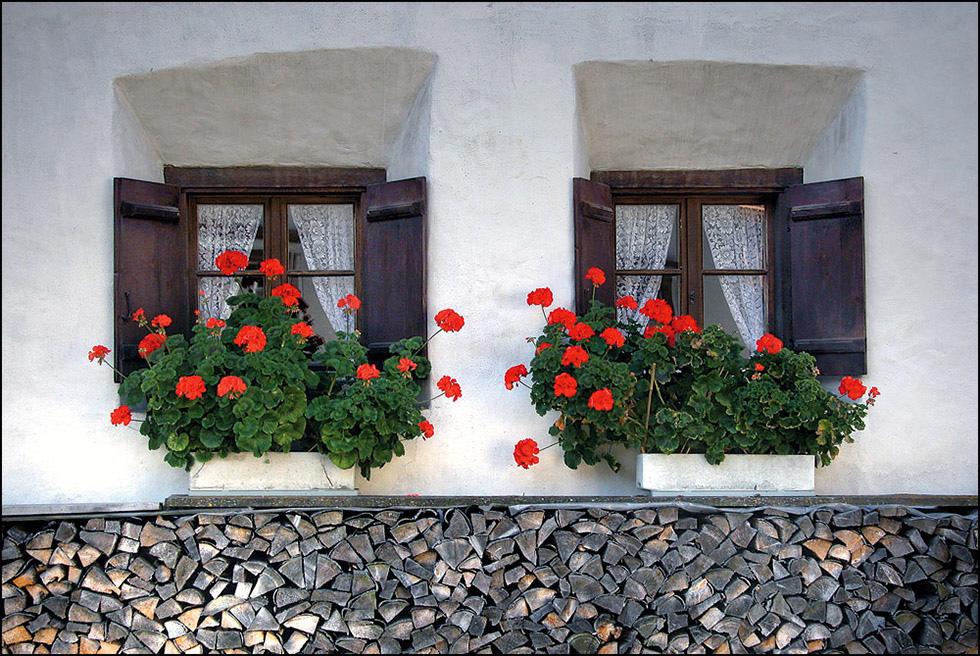 Bergüner Fenster