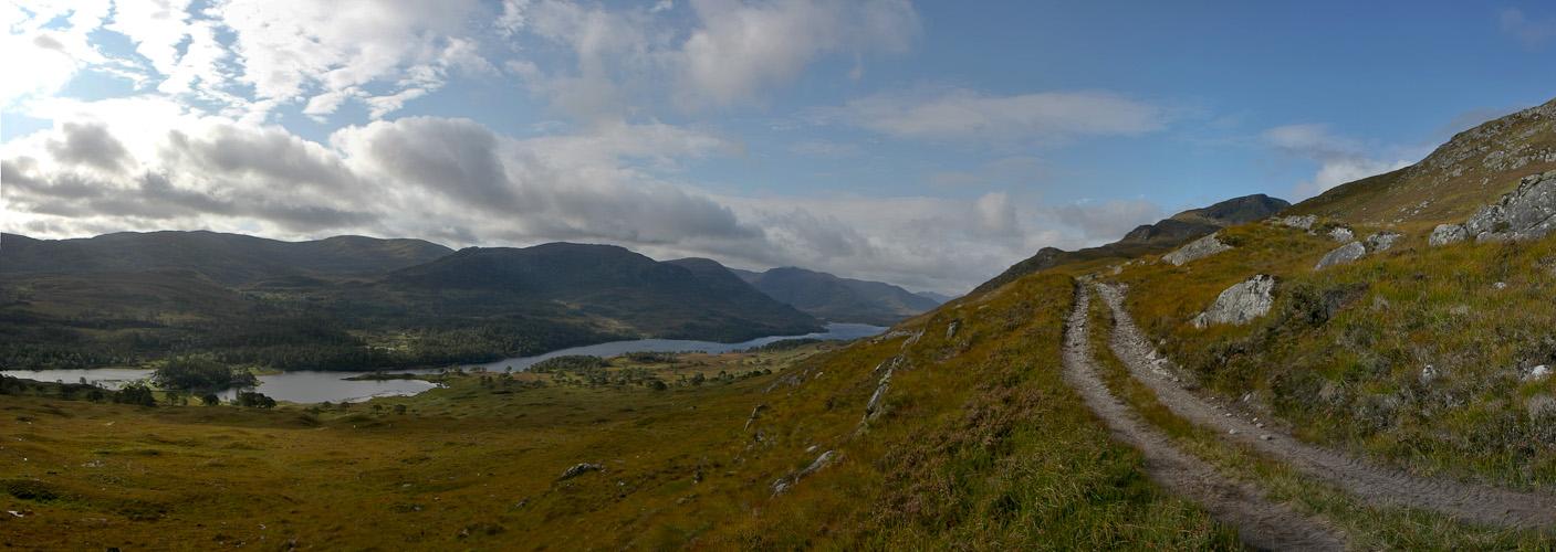 ... Bergwandern im Glen Affric ....