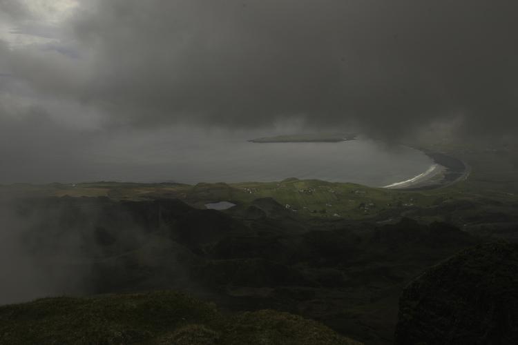 Bergwandern im Nebel III