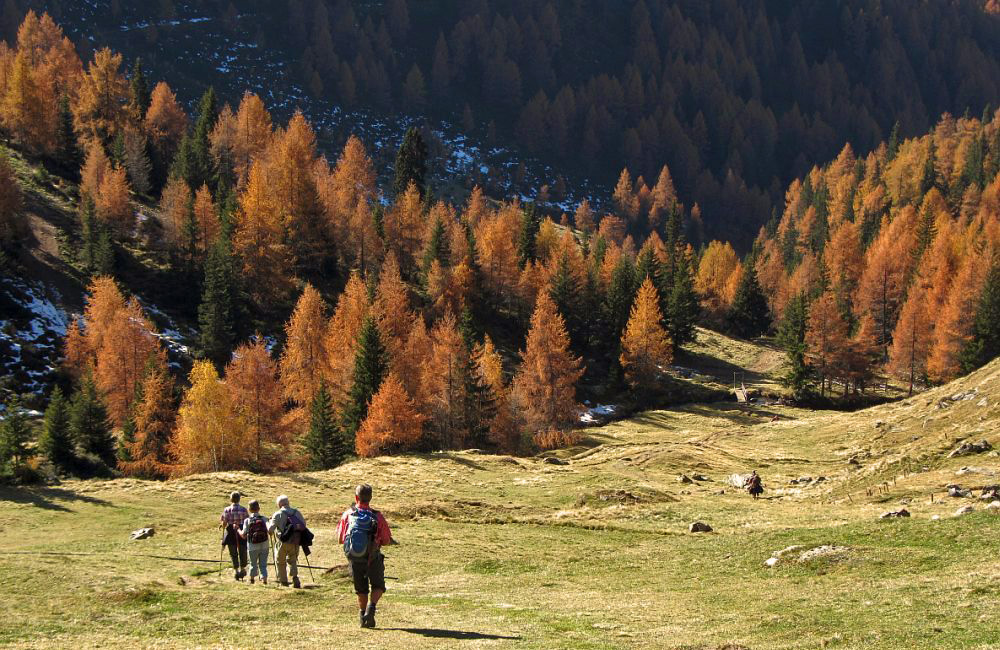 Bergwandern im Oktober