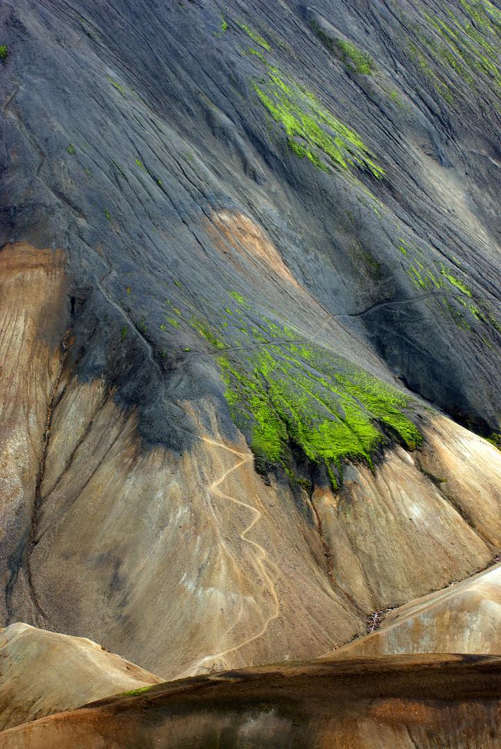 Bergwege, Blahnukur Island