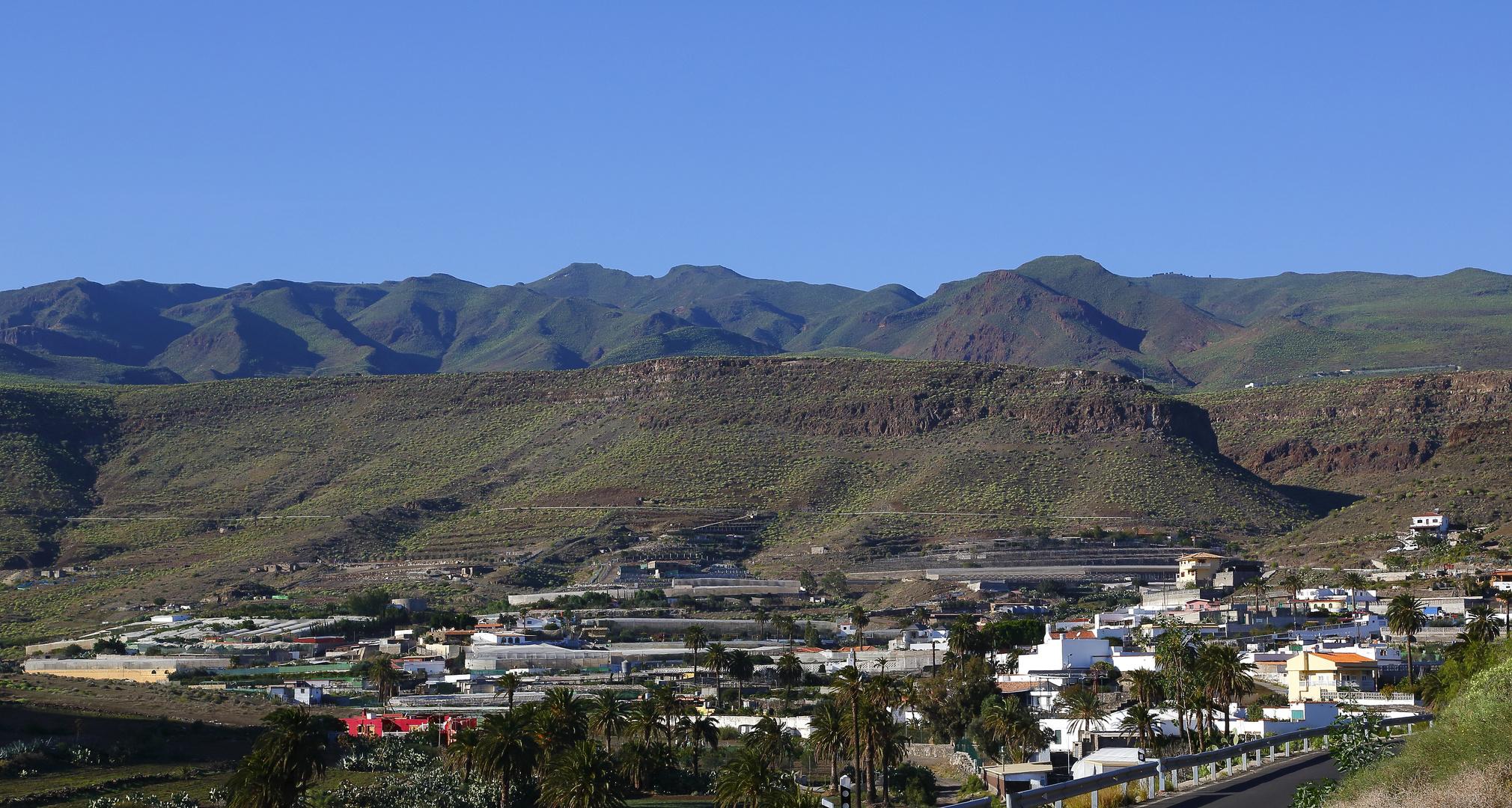 Bergwelt in der Nähe von Ingenio