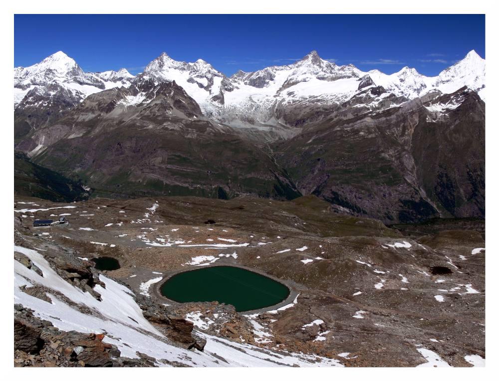 Bergwelt in der Schweiz