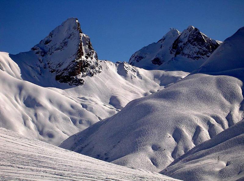 Bergwelt in Lech am Arlberg