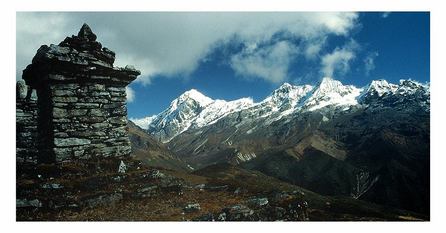 Bergwelt Sikkims