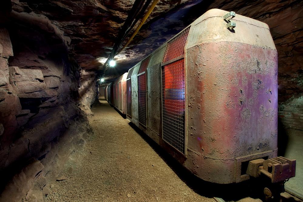 Bergwerk Kleinenbremen #1# - Grubenbahn