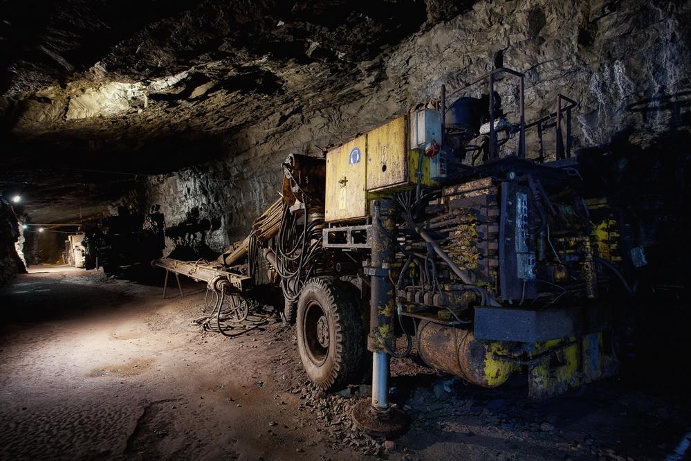 Bergwerk Kleinenbremen #5# - Hausherr Bohrwagen