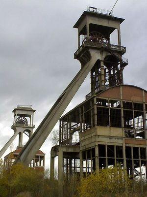 Bergwerk Maasmechelen; Belgien