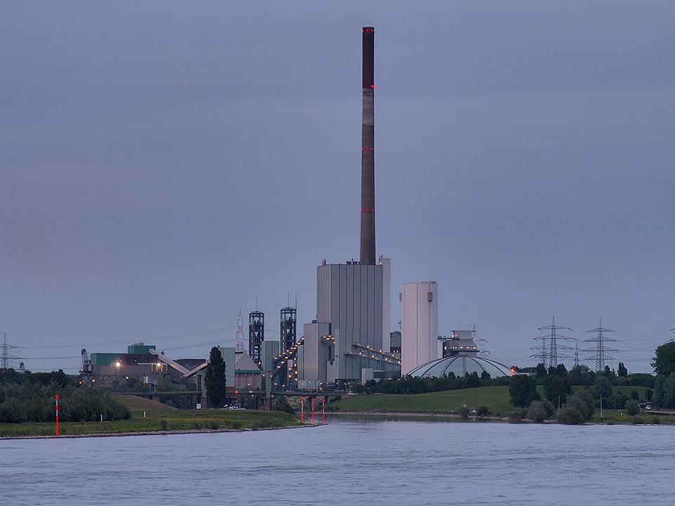 Bergwerk und Kraftwerk Duisburg Walsum