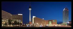 Berlin - Alexanderplatz @Night