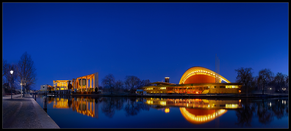 ++ Berlin am Abend +++
