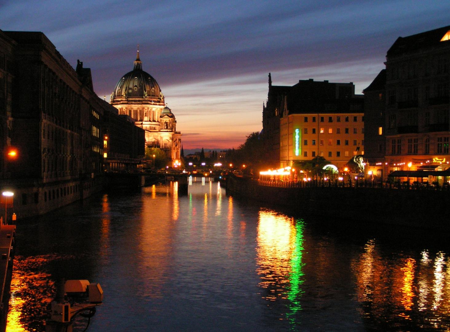 Berlin, am rande des Nikolaiviertels